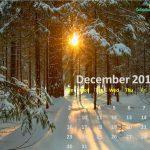 December 2018 Wall Calendar