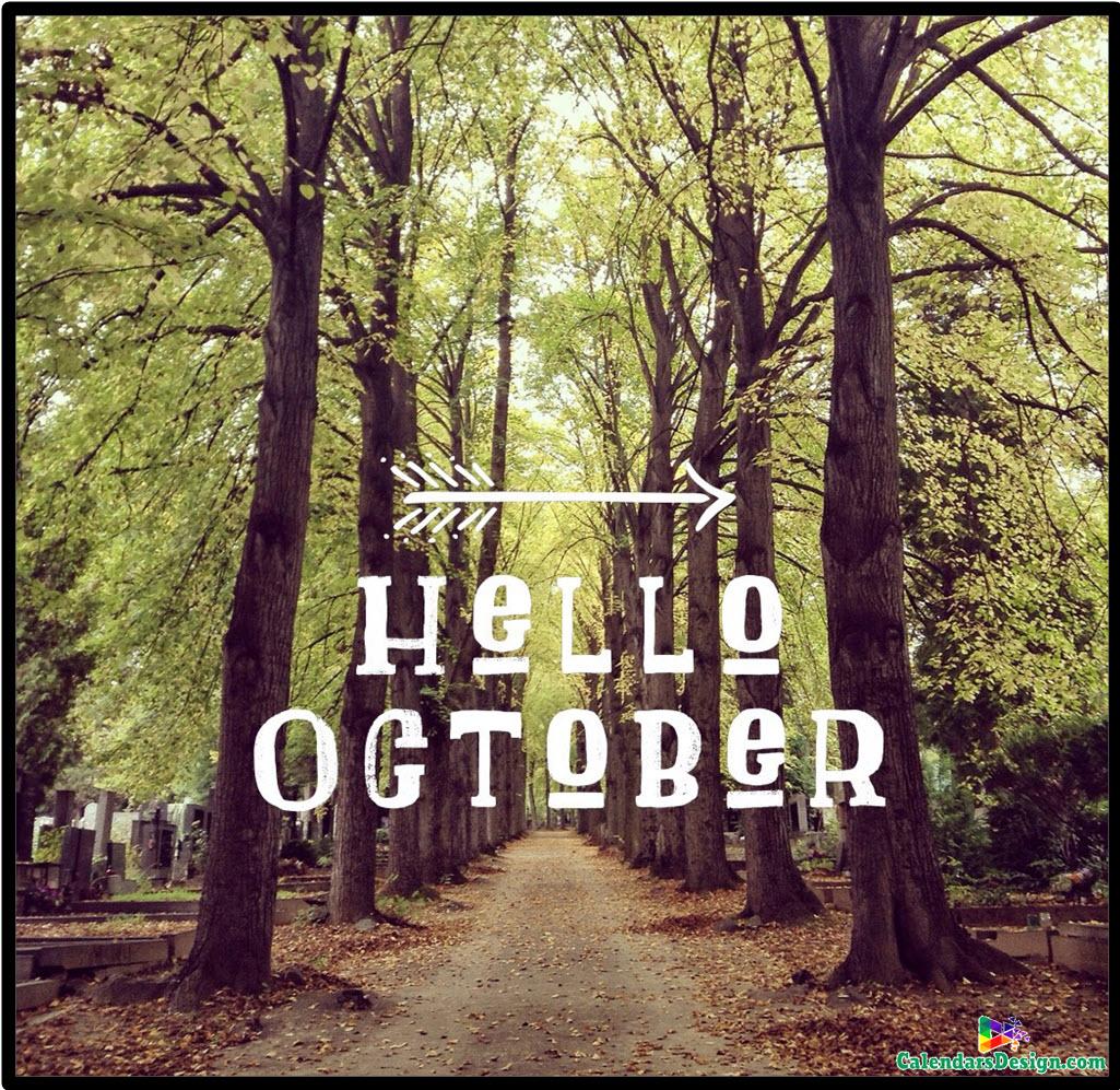 Hello October Month Photos