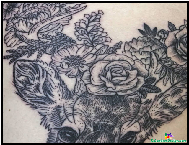 October Tattoo Flower Images