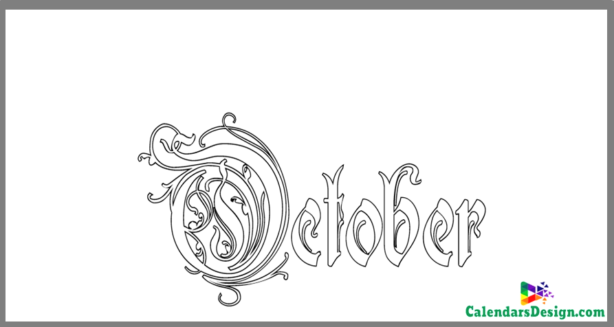 October Tattoo Images
