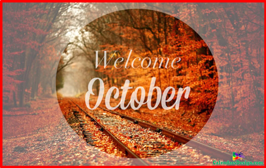Welcome October Images