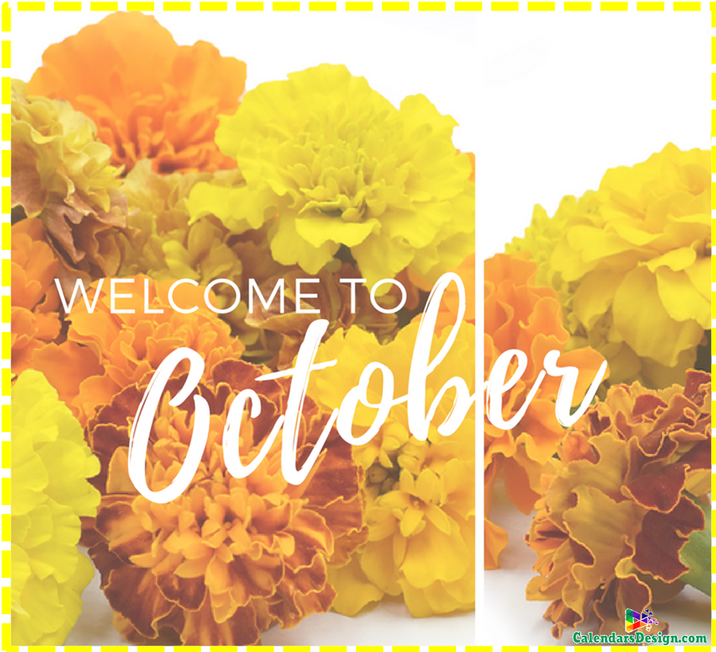 Welcome October Month Tumblr