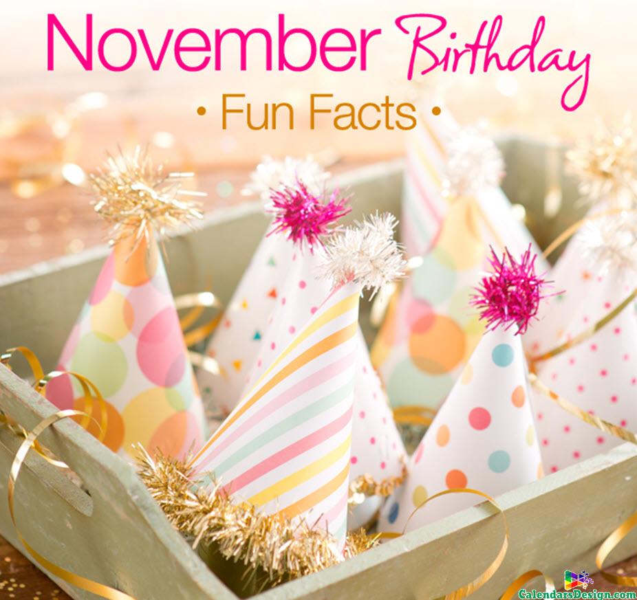 Happy November Birthday Images