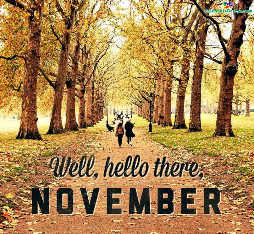 Hello November Images