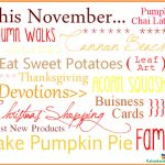 Hello November Quotes and Sayings