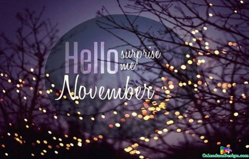 Images for Hello November Month
