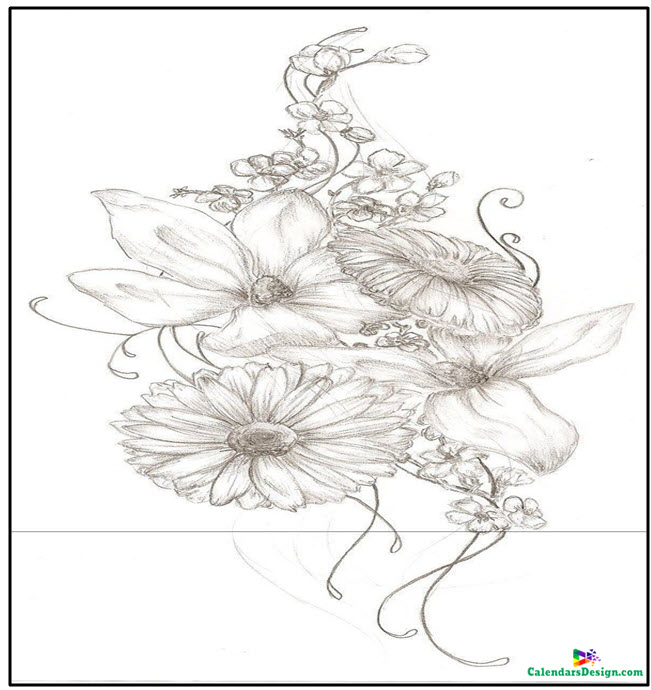 November Birth Flower Tattoos