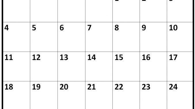 February 2019 Calendar Excel