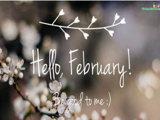 Hello February Images