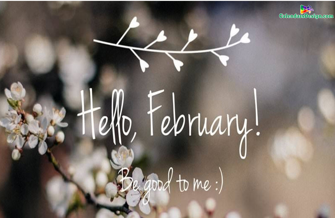 Hello February Images Quotes