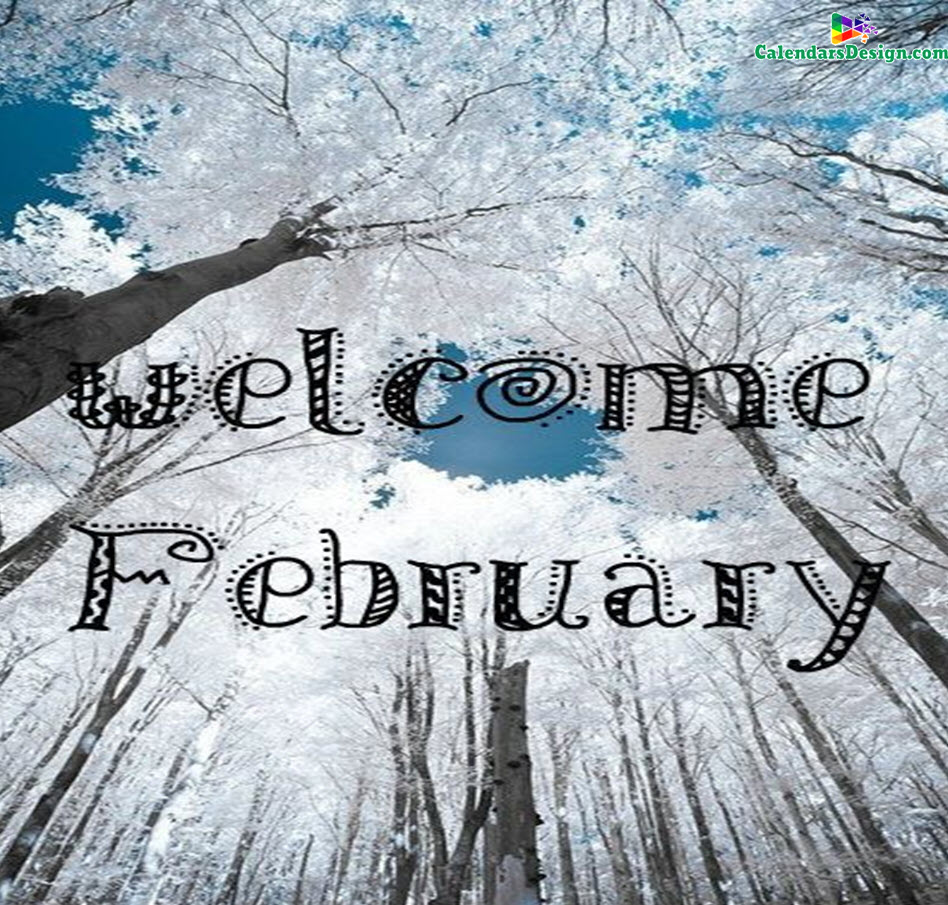 Welcome February Month Pinterest