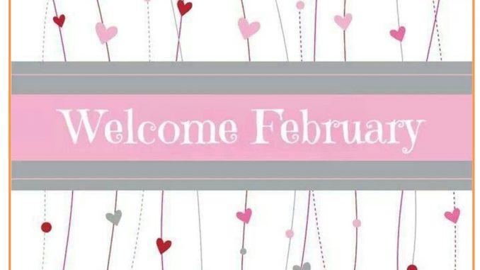 Welcome February Sayings