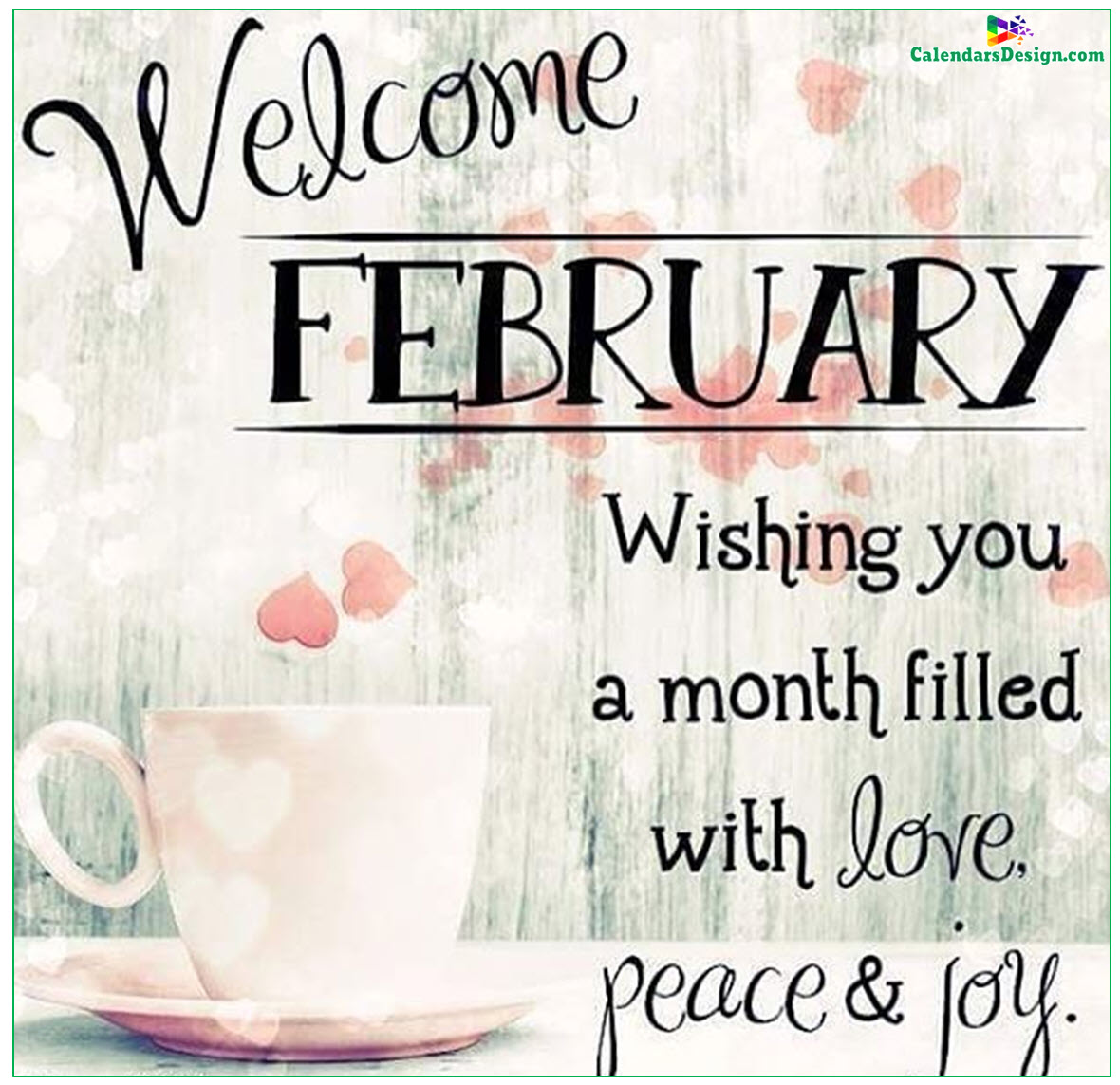 Welcome February Sayings