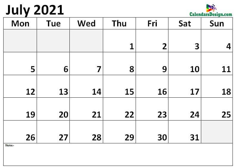 July 2021 calendar jpg