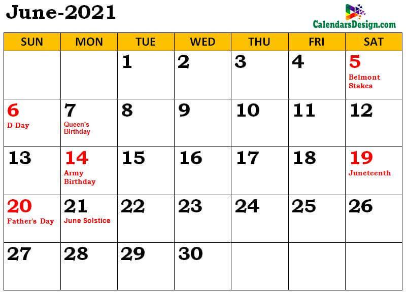 June 2021 Calendar NZ With Holidays