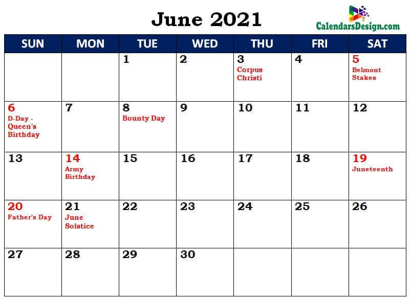 June 2021 Calendar Singapore With Holidays