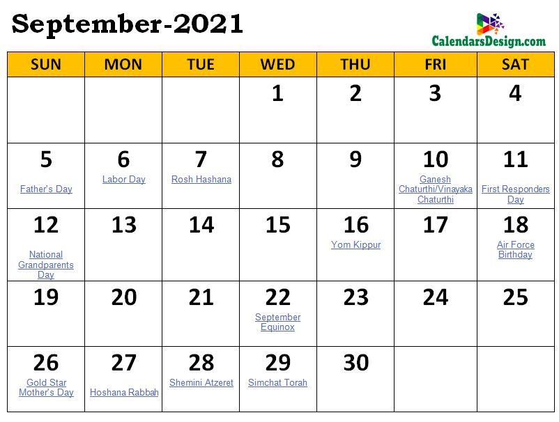 September 2021 Calendar Malaysia with Holidays