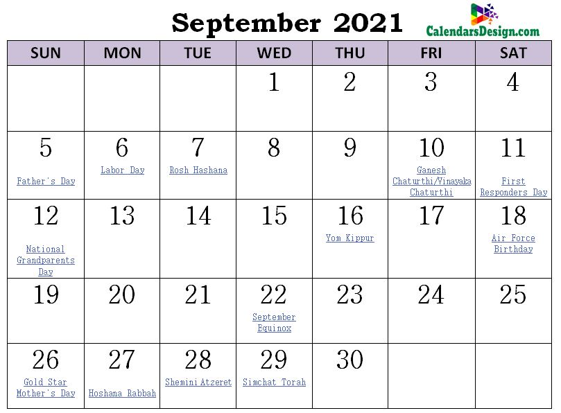 September 2021 Calendar Philippines with Holidays