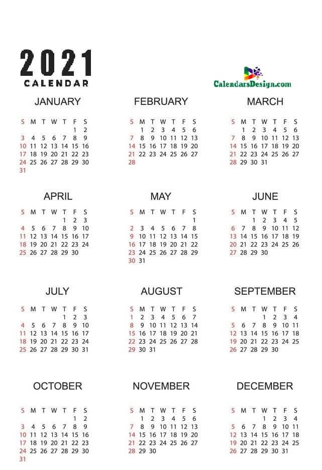 12 calendar printable calendar