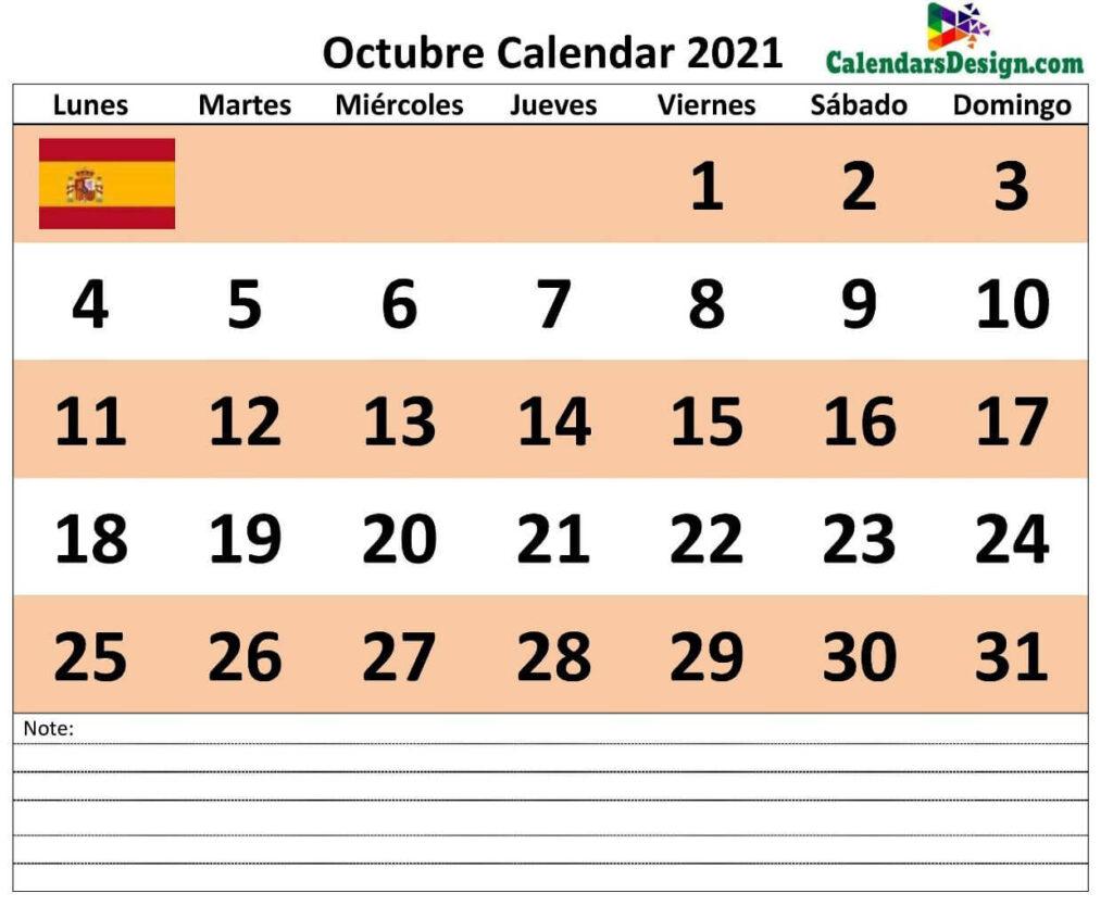 Calendario octubre 2021 jpg