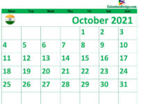 October 2021 Hindu Calendar