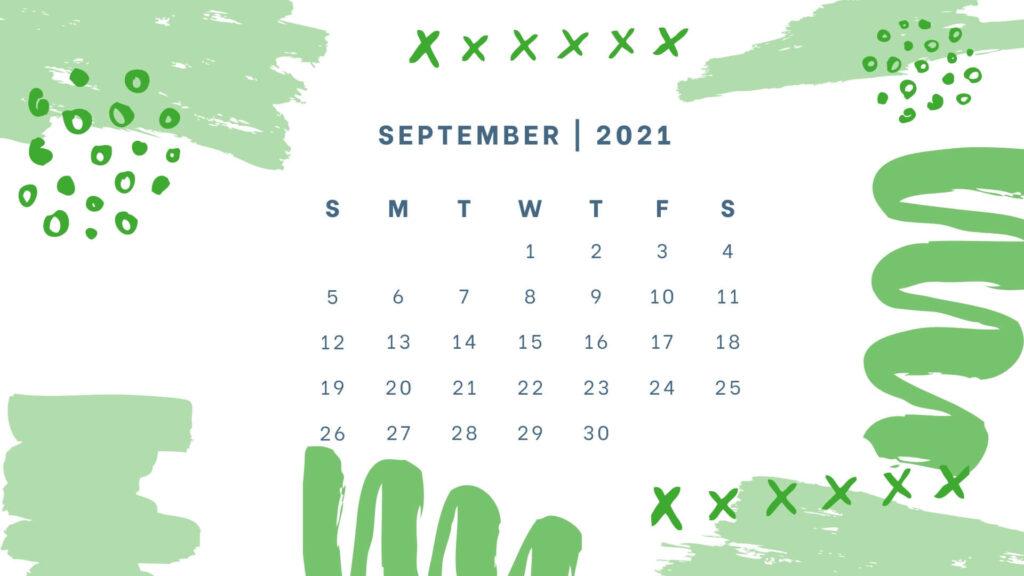 September 2021 Wall Calendar