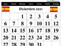 Descargar Calendario Diciembre 2021